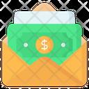 Cash Envelope Money Envelope Finance Envelope Icon