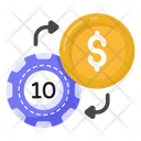 Cash Exchange Coin Exchange Money Exchange Icon