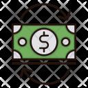 Cash Flow Investment Icon