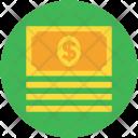 Cash Flow Dollar Icon