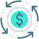 Cash Flow Transaction Icon