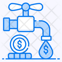 Cash Flow Money Flow Cash Faucet Icon
