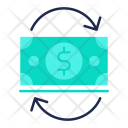 Cash Flow Growth Icon