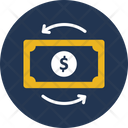 Cash Flow Dollar Money Icon