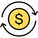 Budget Planning Currency Exchange Icon