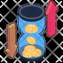 Cash Fluctuation Icon
