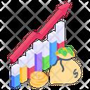 Cash Growth Icon