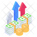 Growth Chart Sales Growth Profit Icon