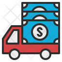 Cash Transit Money Icon
