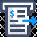 Cash Invoice Icon