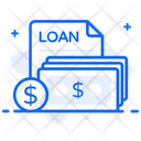 Cash Loan Money Loan Debt Amount Icon