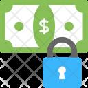 Cash Lock Icon