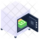 Digital Locker Cash Box Cash Vault Icon