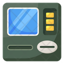 Cash Machine Atm Money Dispenser Icon