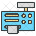 Cash Machine Cash Register Icon