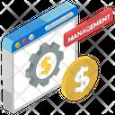 Financial Management Business Management Cash Management Icon
