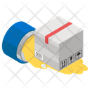 Cash On Delivery Payment Method Logistics Icon