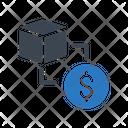 Delivery Parcel Dollar Icon
