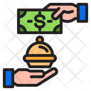 Delivery Food Pay Icon