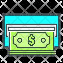 Cash Out Atm Convert Icon