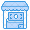 Store Shopping Cash Icon