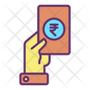 Mgive Cash Cash Payment Pay Rupee Icon