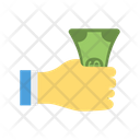 Paying Cash Dollar Icon