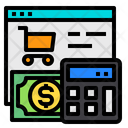 Cart Website Calculator Icon