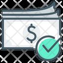 Cash Cash Payment Spot Cash Icon