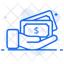 Cash Payment Money Payment Banknote Icon