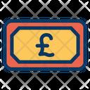 Cash Pound Icon