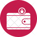 Cash Privacy Lock Wallet Money Lock Icon