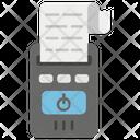 Cash Receipt Cash Register Bill Icon