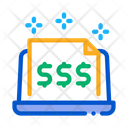 Cash Documents Computer Icon
