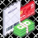 Money Receipt Cash Receipt Cash Bill Icon