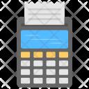 Cash Receipt Calculator Icon