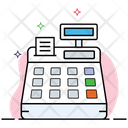Cash Register Cash Drawer Invoice Machine Icon