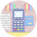 Cash Register Pos Invoice Machine Icon