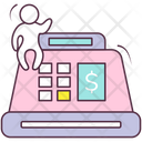 Cash Register Cash Till Pos Icon
