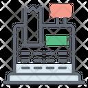 Cash Register Cash Till Billing Machine Icon
