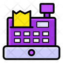 Cash Register Cash Till Point Of Service Icon