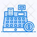 Cash Register Pos Cash Till Icon