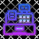 Cash Register Pos Invoice Machine Icon