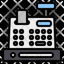 Cash Register Invoice Machine Cash Till Icon