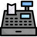 Online Shopping Cash Register Payment Icon