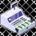 Cash Register Cash Till Point Of Sale Icon
