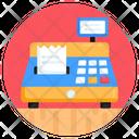 Billing Machine Cashier Machine Cash Register Icon