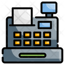 Cash Register Shopping Store Icon