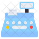Cash Register Point Of Sale Payment Machine Icon