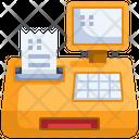 Cash Register Cash Machine Cashier Machine Icon